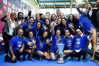 WATERPOLO - Euroliga femenina 2018/2019: En Sabadell pudieron celebrar el quinto título continental de su club tras una final en la que gestaron una remontada épica al Olympiacos