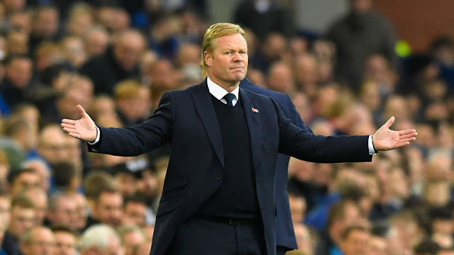 Ronald Koeman sacked by Everton after Arsenal defeat