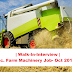 Walk-In-Interview | M.Sc. Farm Machinery Job- Oct 2017