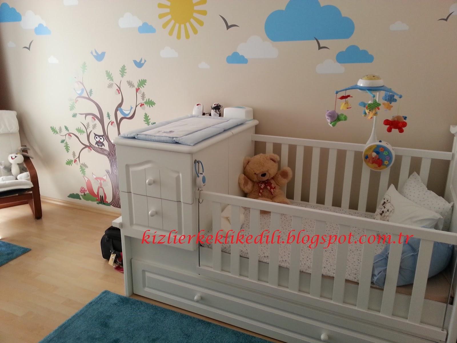 Bebek ve çocuk odası hazırlamak