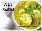Egg Muttai Kurma