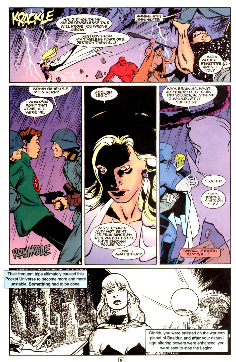 Legion of Super-Heroes (1989) 53 Page 9