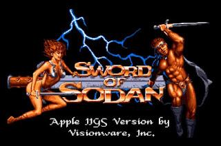 Versión de Sword of Sodan para Apple IIGS