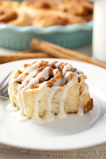 Cinnamon Buns from Cooking Classy