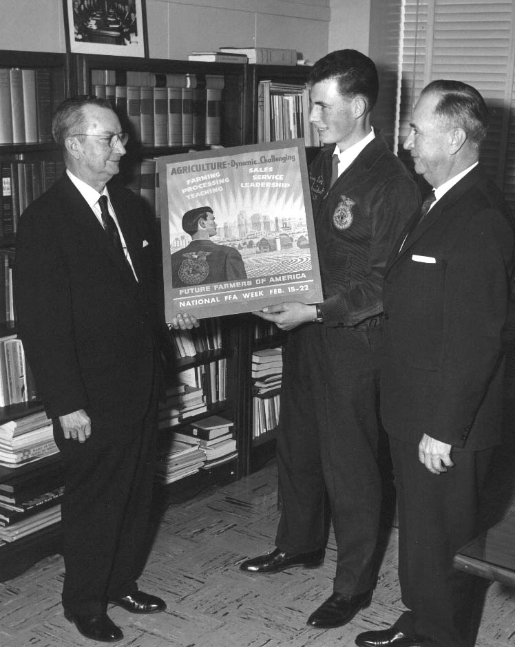 Library  Archives News The Tennessee State Library and Archives - new farmers of america