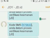 Cara Membuat Prank Bom SMS JD.ID Tanpa Aplikasi Terbaru