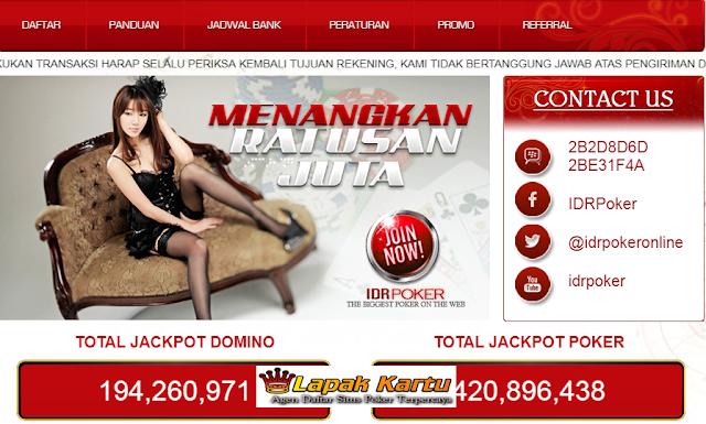 Bandar Judi Poker Online Terpercaya se Asia Tenggara - IDRPoker