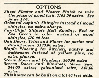 Sears Hazelton in 1920 Sears Modern Homes catalog
