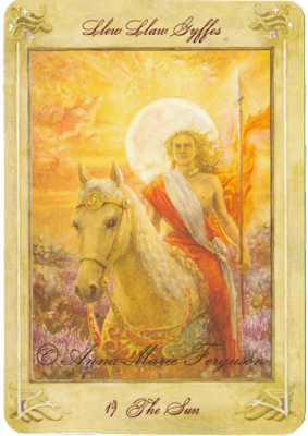 Llewellyn Tarot The Sun