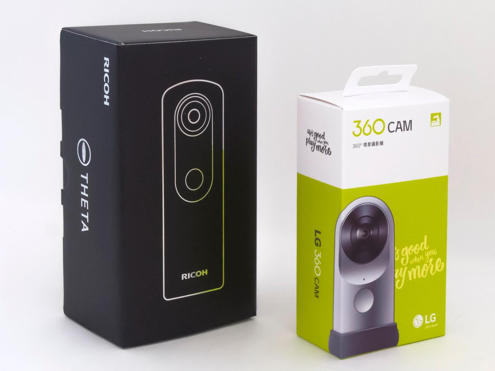 徹底比較 LGの360度カメラ「LG 360 CAM」。なんと「RICOH THETA S」の ...
