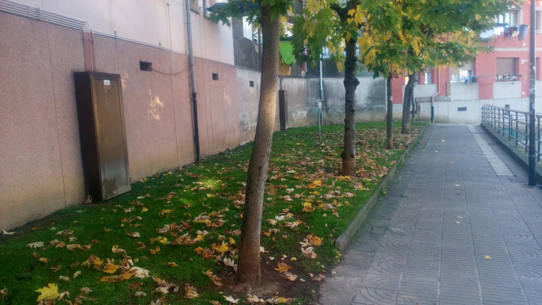 Barakaldo digital denuncia vecinal vallas para que los for Jardines de plaza