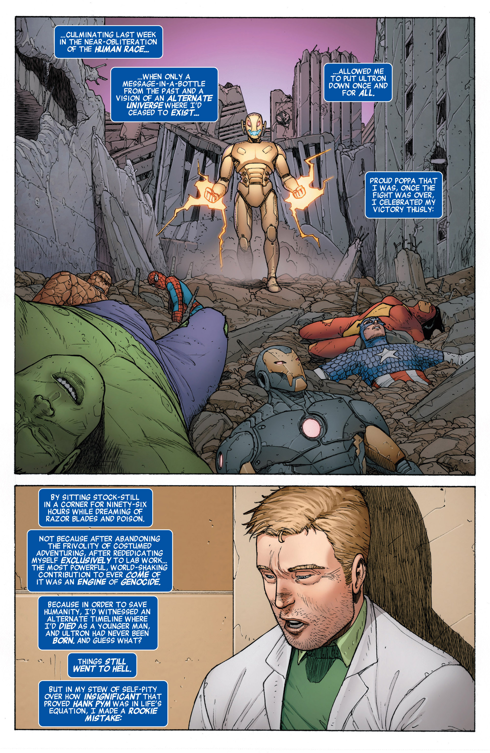 Read online Age of Ultron comic -  Issue #10AI - 13