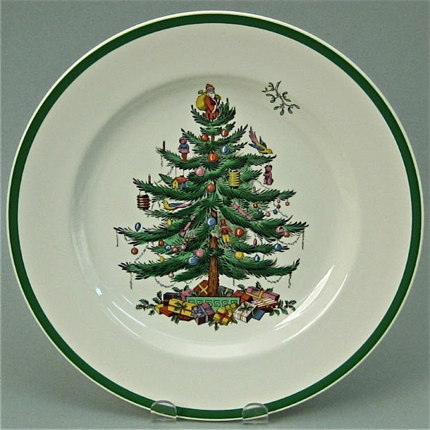 Spode History And Christmas Tree Backstamps