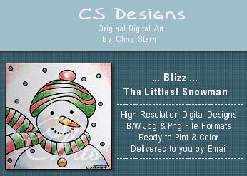 Christmas Digital Stamp Collection