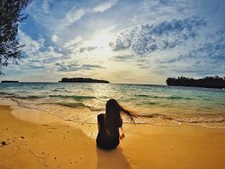 Keindahan Bak 'Surga' di Pulau Harapan, Kepulauan Seribu