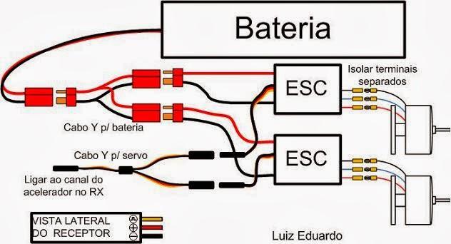 30 Amp Esc Wiring Diagram Hobbies Da Hora Sua Loja De Aeromodelismo Em Alagoas