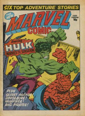 Marvel Comic #331, Hulk vs Thing