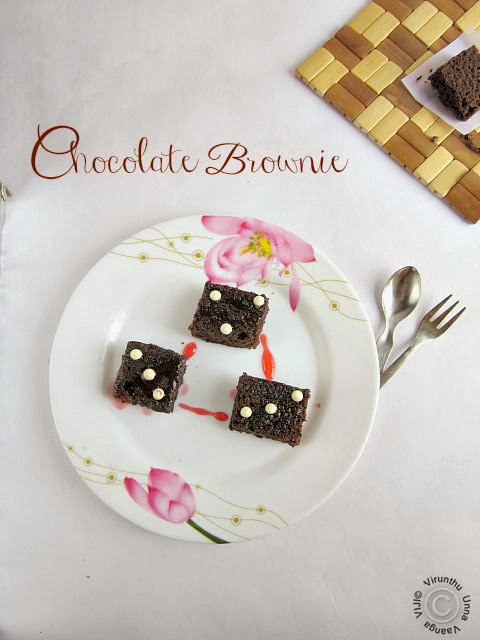 easy-chocolate-brownie
