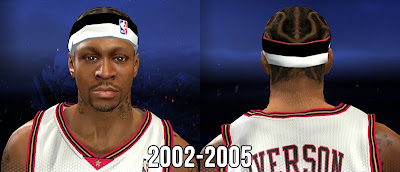 NBA 2K14 A.I White/Black/Red Headband