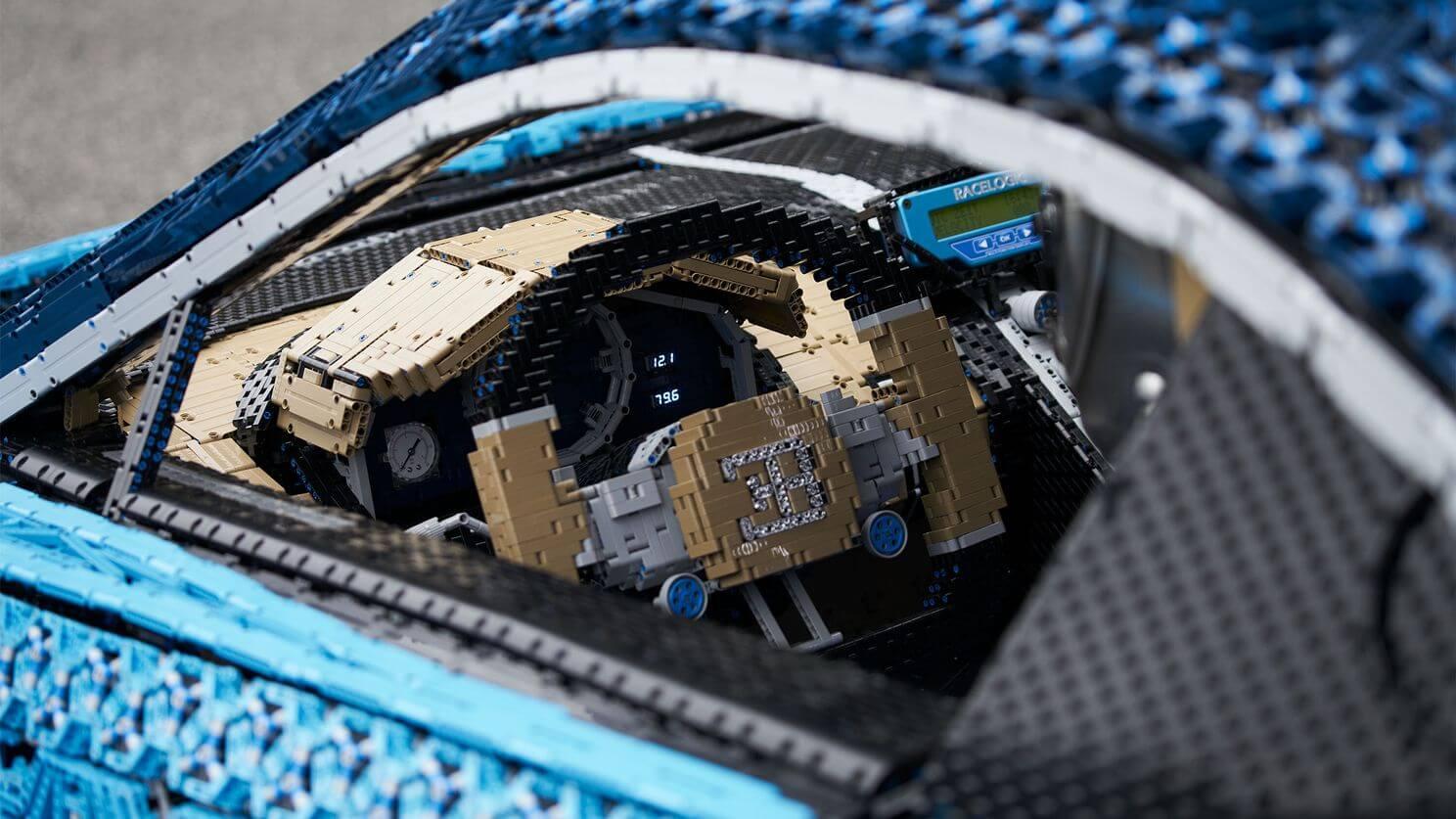 Lego Built A Life-Size Drivable Lego Technic Bugatti