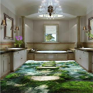 lantai keren dengan epoxy lantai