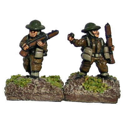 W2B1 Infantry with Rifle and SMG (includes NCOs)