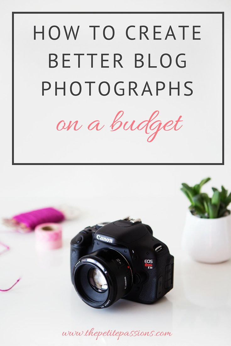 How to create better blog photographs on a budget