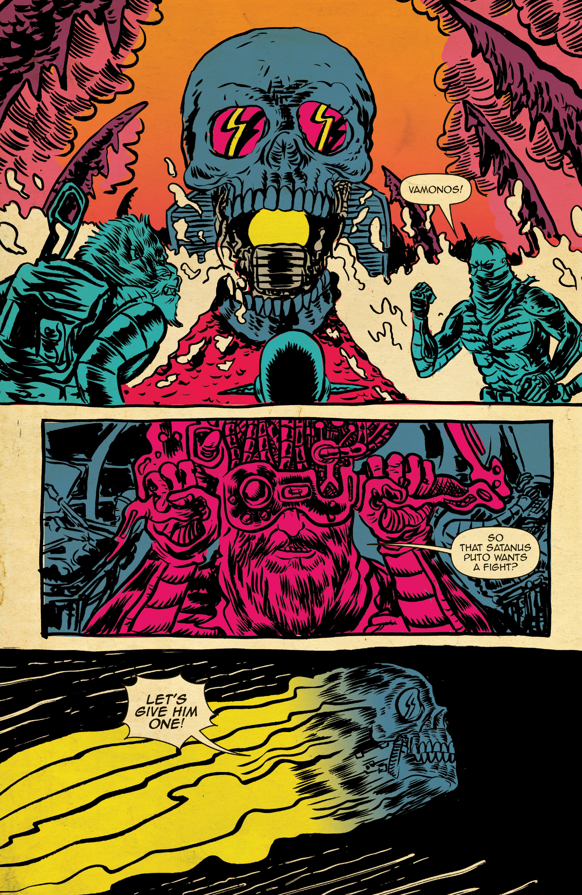 Read online Space Riders comic -  Issue #4 - 7