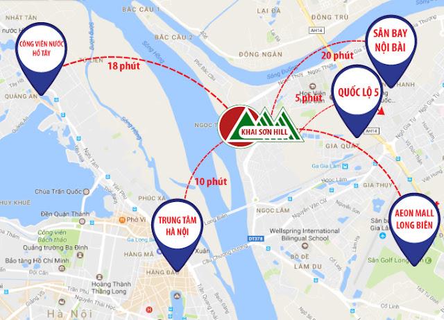 Vị Trí Imperia Green City Long Biên