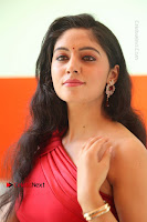 Actress Zahida Sam Latest Stills in Red Long Dress at Badragiri Movie Opening .COM 0180.JPG
