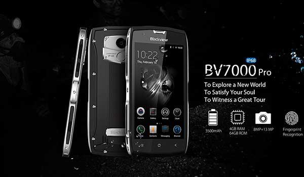 Téléphone Intelligent Blackview BV7000 Pro