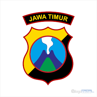Polda Jawa Timur Logo vector (.cdr)