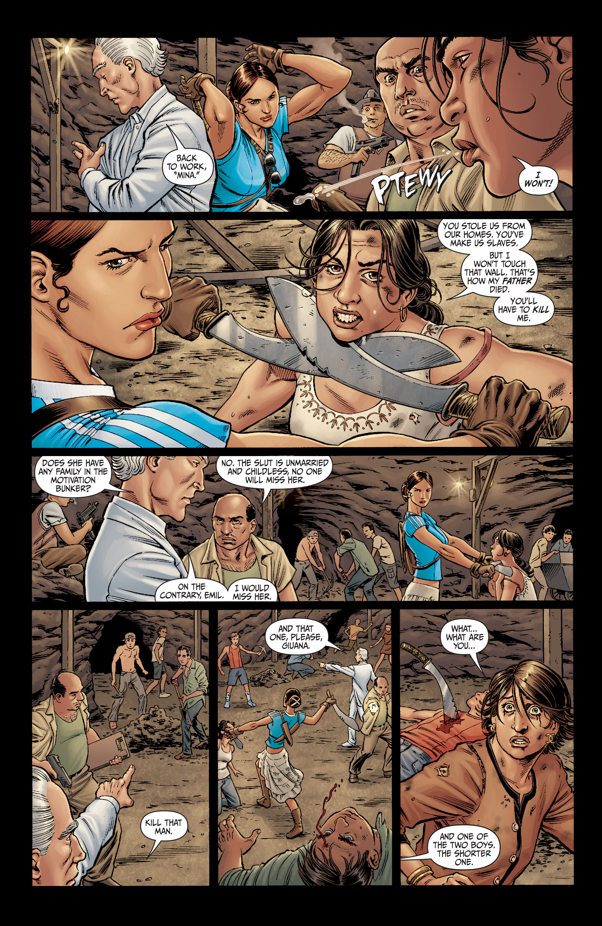 Read online Secret Six (2008) comic -  Issue #10 - 3