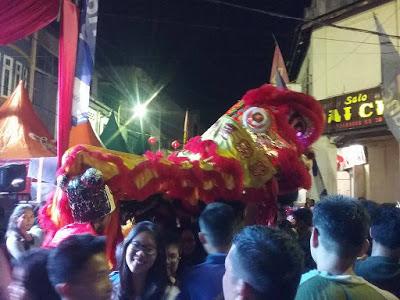 Barongsai meriahkan Imlek fair Siantar 2017