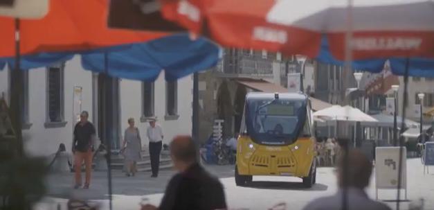 NAVYA - Ηλεκτροκίνητα Λεωφορεία χωρίς Οδηγό