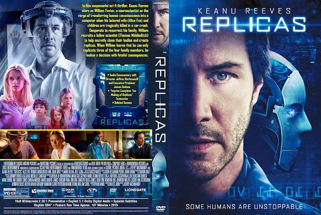 Replicas DVD Cover
