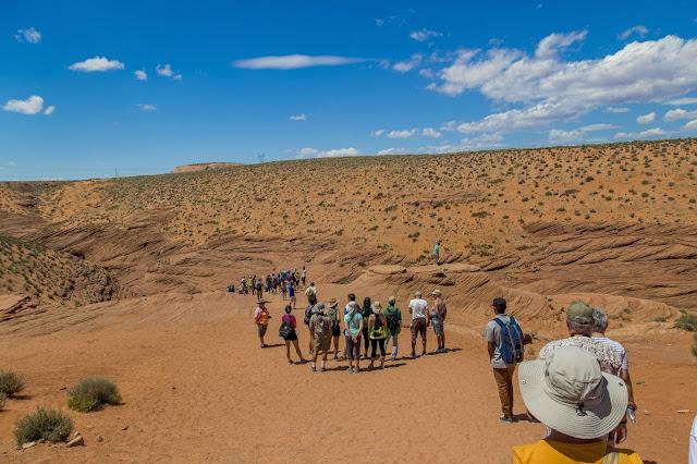 Antelope Canyon line