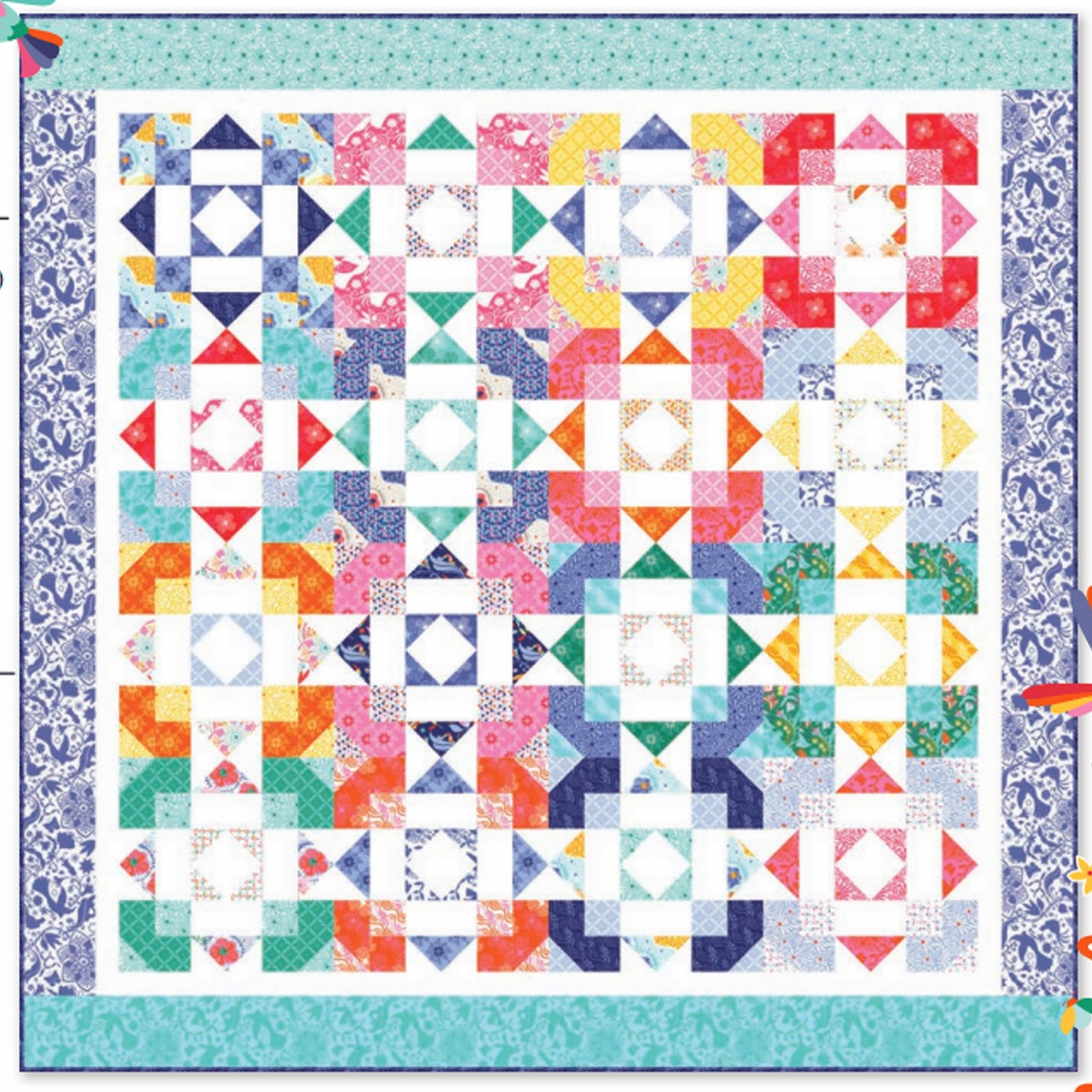 Moda DAYDREAM DAYDREAMS Free Quilt Pattern Kate Spain