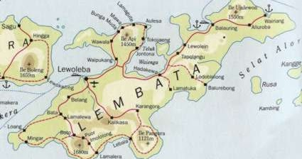 geografis kabupaten lembata kepulauan ntt