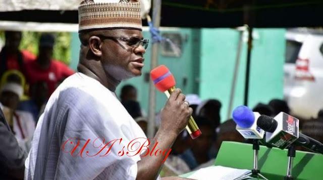 EXTRA: 'Nobody has monopoly of stupidity'—Yahaya Bello goofs at APC rally