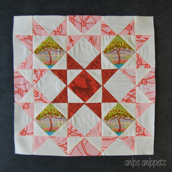 Square in a Square Stars block