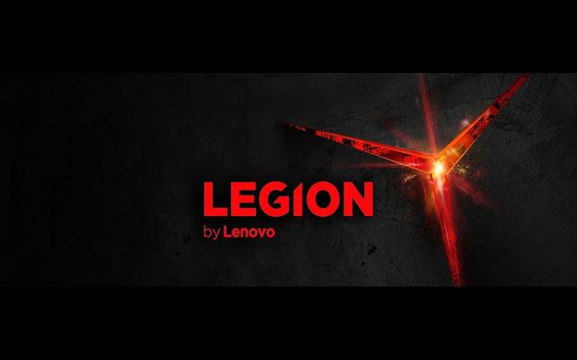Novos Lenovo Legion™ mais arrojados do que nunca
