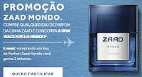 Promoção Zaad Mondo Boticário