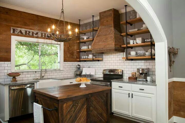 fixer upper kitchen vent hood