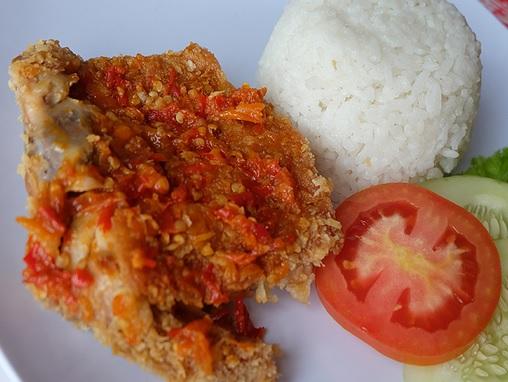 Resep & Cara membuat Ayam Geprek
