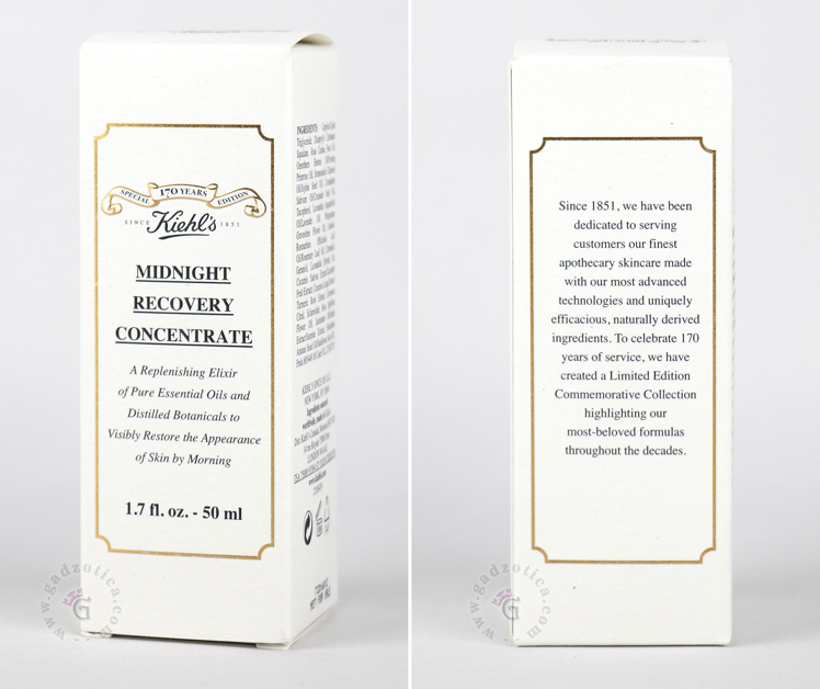 Review Kiehl's Midnight Recovery Concentrate Serum