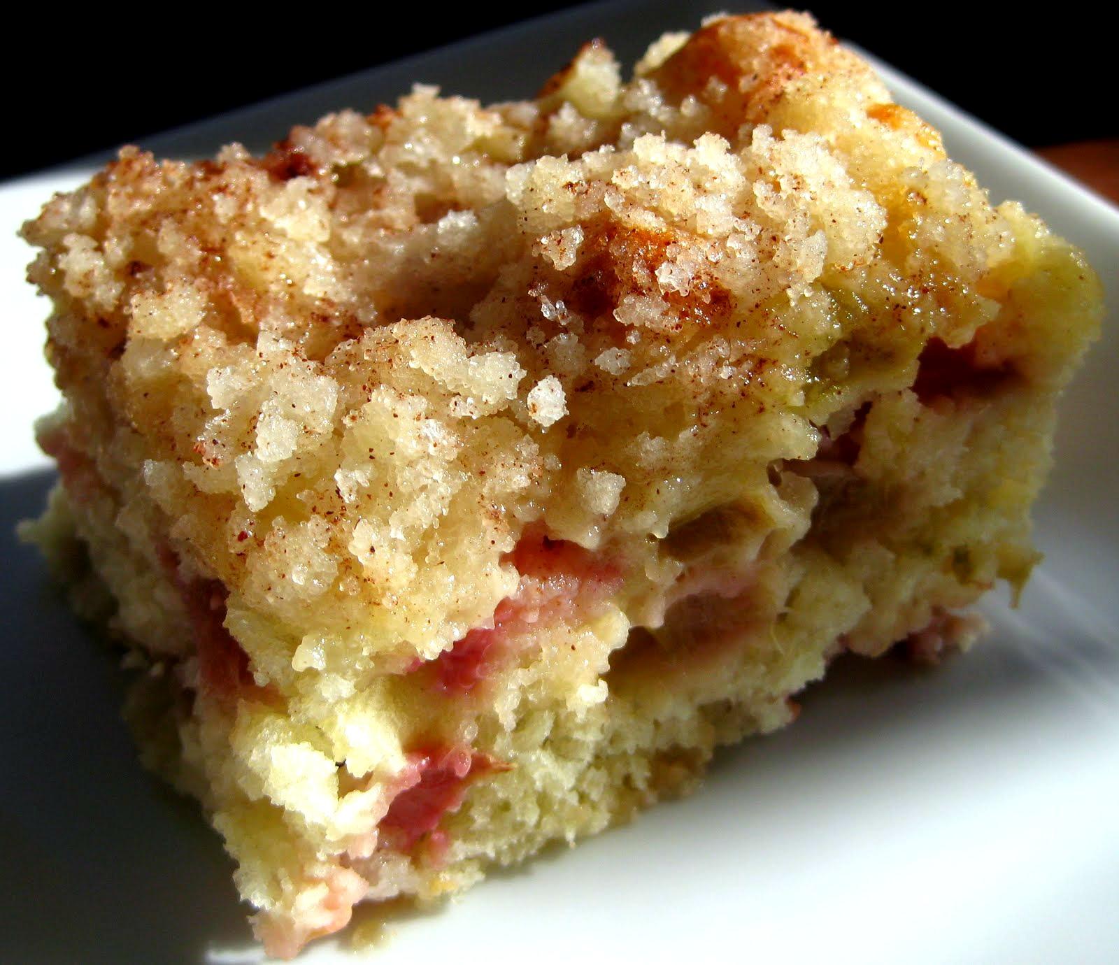 Rhubarb And Cinnamon Cake Recipe