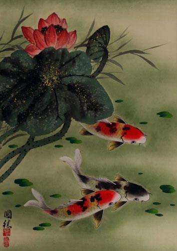 Asian Art Flowers 66