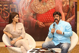 Shriya Saran Nandamuri Balakrishna at Gautamiputra Satakarni Team Press Meet Stills  0165.JPG