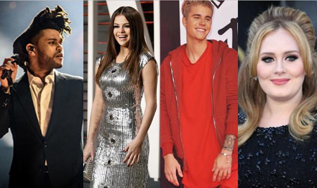 Lista de nominados para los Billboard Music Awards 2016.